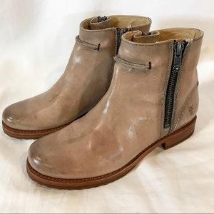 Frye Shoes - Frye Veronica Seam Short Ankle Boots Distressed  7